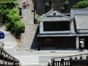 杵築の城下町(酢屋の坂_杵築市)