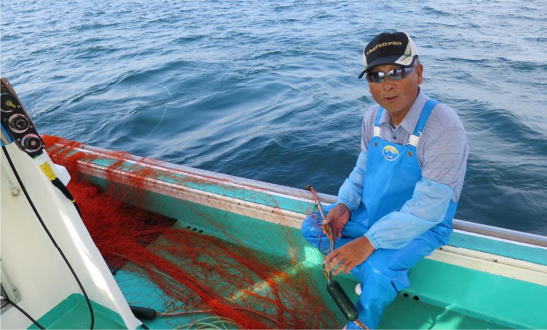 MV 姫島の吾智網漁