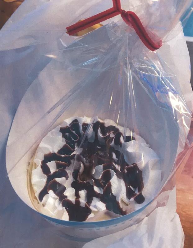生クリームバナナクレープ